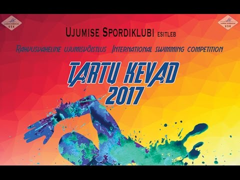 """10:00 / 1st DAY / 15. april 2017 / Rahvusvaheline ujumisvõistlus """"Tartu Kevad 2017"""""""