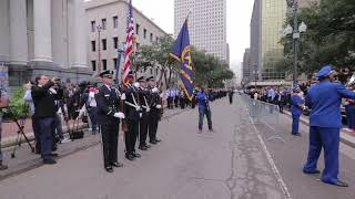 Landry-Walker High School's band plays national anthem at swearing-in ceremony for NOPD's new chief