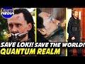 Time Travel Quantum Realm Explained! Why does Tony want Loki? Avengers 4 Theory!