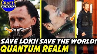Time Travel Quantum Realm Explained! Why does Tony want Loki? Avengers 4 Theory!