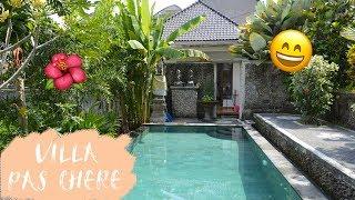 🌺 Bon plan VOYAGE : villa de LUXE pas chère à UBUD, Bali 🌺