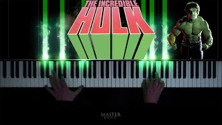 """Download JOE HARNELL - Theme from The Incredible Hulk. 1977. TV SERIES  """"Lonely Man""""  Piano Cover"""