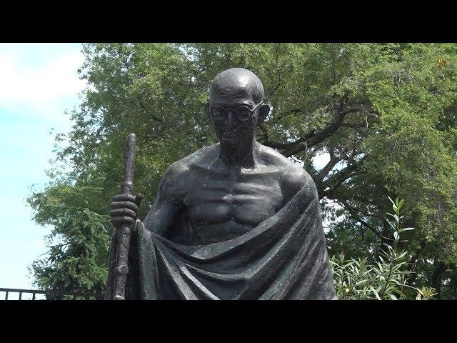 Sadhu Vaswani Center Celebrates Mahatma Gandhi Statue Re-Dedication - Secaucus - New Jersey