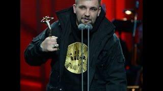 Баста на вручении первой Российской национальной музыкальной премии