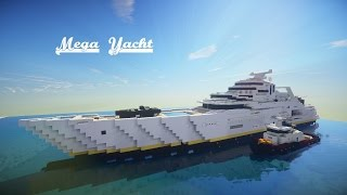 ✔ Minecraft: Mega Yacht (Speed Build) Final Part