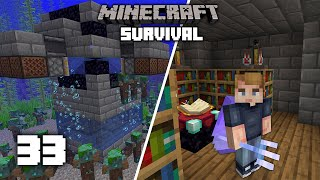 Minecraft: OP TRIDENT FARM! - 1.16 Survival Let's play | Ep 33