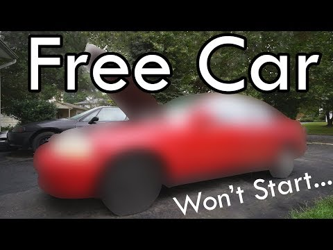 How to Fix a FREE CAR that Cranks but Won't Start