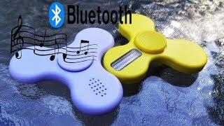 Bluetooth Speaker Fidget Spinner and Programmable LED fidget Spinner Review.
