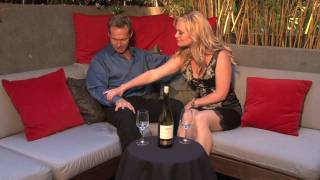 Actor Tom Schanley visits the Celebrity Wine Review VIP Lounge