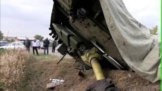 В Дагестане перевернулась фура с новейшим российским танком – СМИ