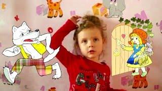 Сказки для детей. Красная Шапочка и Серый Волк(Сказки для детей - это самое приятное воспоминание из детства. Это так мило, когда сказку рассказывает ребен..., 2016-04-29T10:26:56.000Z)