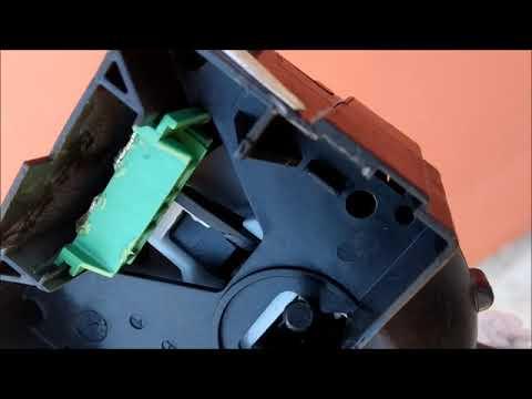 Пропал ближний свет на Рено Логан 2  Снятие и ремонт подрулевого переключателя
