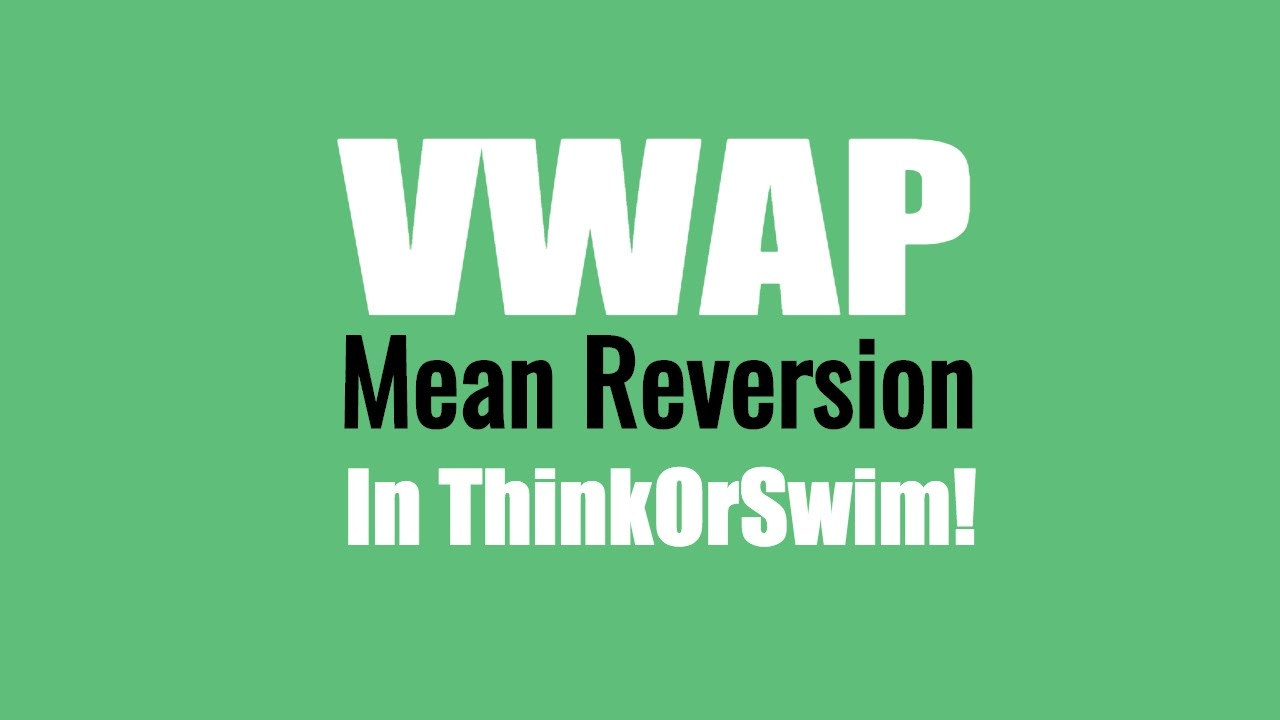 NEW Trading Strategy! Z-Distance from VWAP Indicator & Scan for ThinkOrSwim