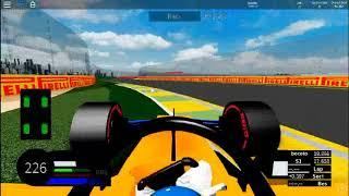 McLaren Flipped (Roblox - FRA Formula One)