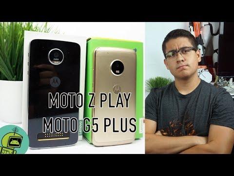 MOTO Z PLAY vs MOTO G5 PLUS / LA VERDAD