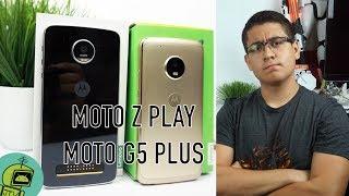 Moto Z Play vs Moto G5 Plus / ¿Cual comprar?