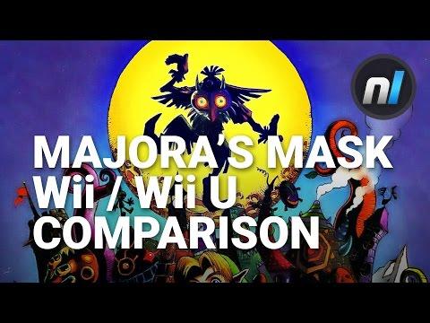 Zelda: Majora's Mask Wii U / Wii Virtual Console Comparison