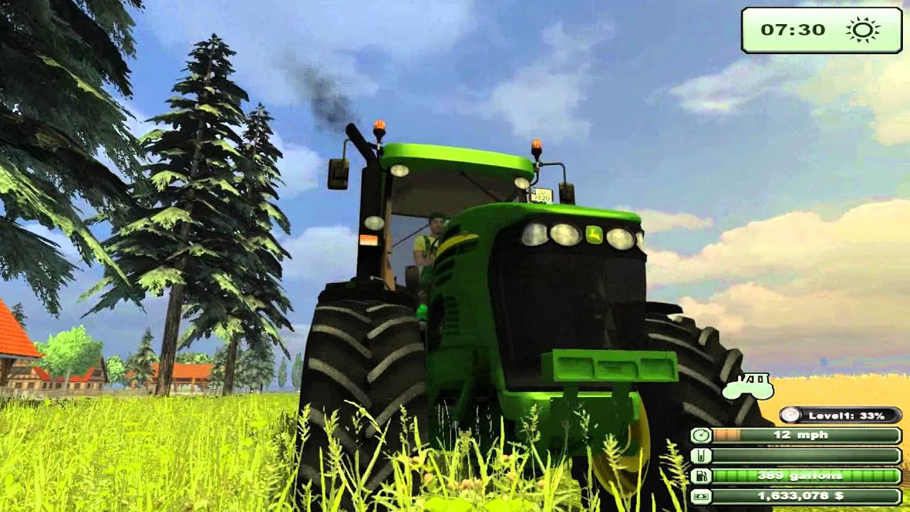 farming simulator 2013 texas edition test mod john deere 7820 tractor youtube. Black Bedroom Furniture Sets. Home Design Ideas
