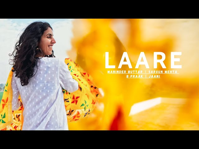 LAARE | Dance Cover | Maninder Buttar | Sargun Mehta | B Praak | Jaani | Penning Silly Thoughts