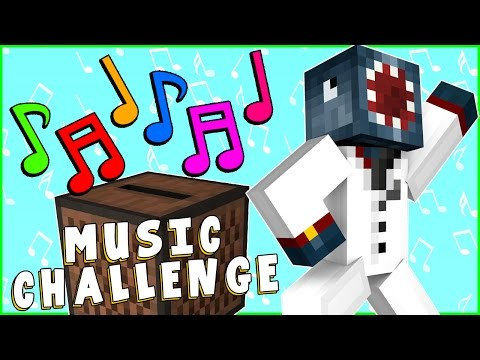 Minecraft Xbox - Music Challenge! Part 1