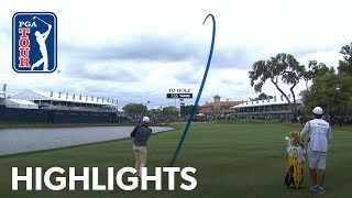 Rory McIlroy shot trail highlights from THE PLAYERS 2019