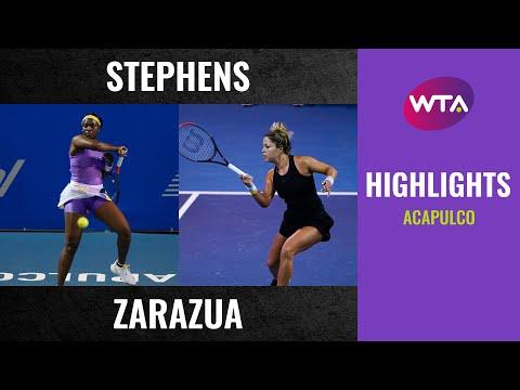 WTA Acapulco round 1 | Sloane Stephens vs. Renata Zarazua | Highlights