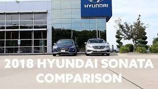 2018 Hyundai Sonata Comparison смотреть