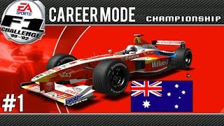 F1 Challenge 99-02 | Career Mode | Part 1 Australia
