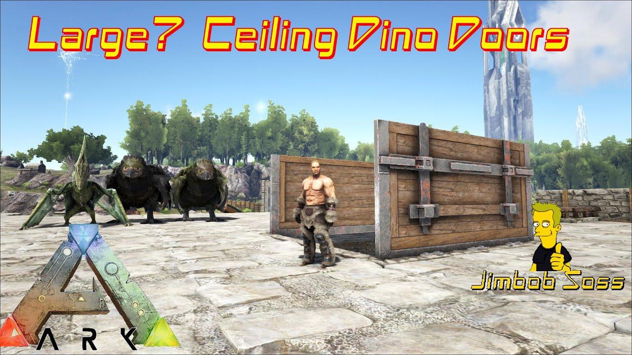 sc 1 st  YouTube & Large Ceiling Dino Doors - YouTube