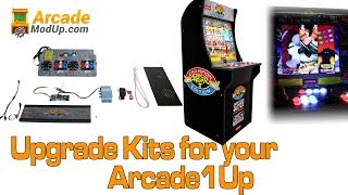 Arcade1Up Upgrade Kits from ArcadeModUp Play 1000