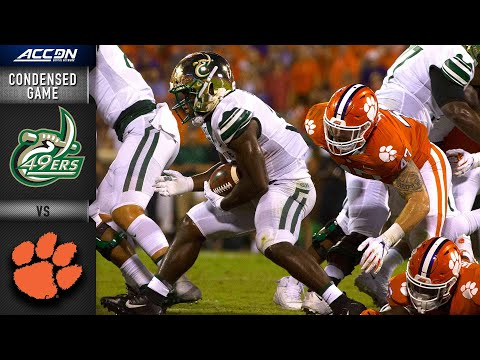 Charlotte vs. Clemson  Condensed Game | ACC Football 2019-20