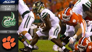 Charlotte vs Clemson  Condensed Game  ACC Football 2019-20