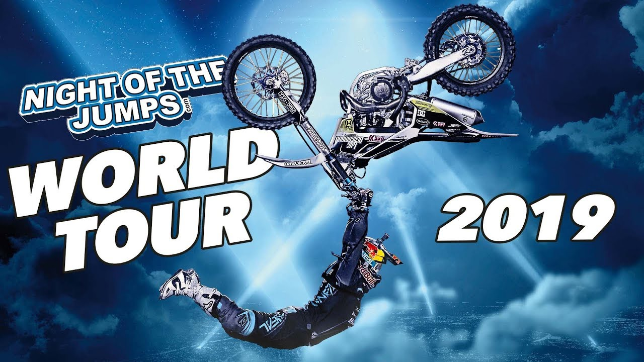 Night Of The Jumps World Tour Trailer 2019 Youtube