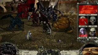 Disciples 2 Gameplay (By Skinny)-  Final Battle -  Legions Of The Damned
