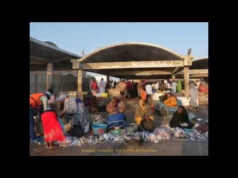 2013 Mauritanie  Nouakchott, Port De Pêche, Les Acheteuses, Les Vendeuses, Fish Market