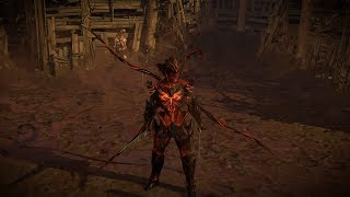 Path of Exile: Demon Parasite Armour Set