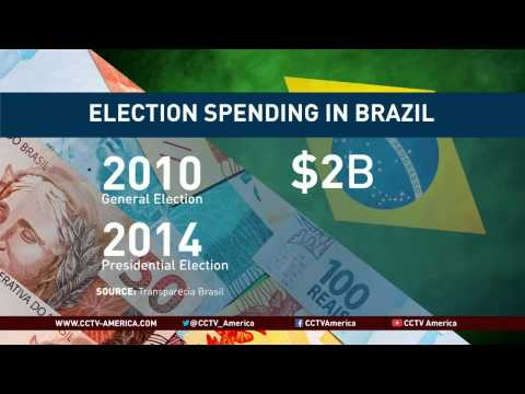 Presidential candidates are spending more than ever in Brazil