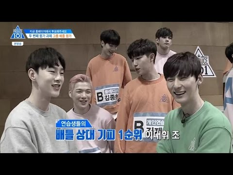 [Produce101 S2] EP3 Battle Team Choosing (Boy in Luv & Sorry Sorry) cut