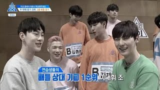 [Produce101 S2] EP3 Battle Team Choosing (Boy in Luv & Sorry Sorry) cut