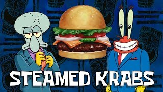 Steamed Hams but it's Squidward and Mr. Krabs