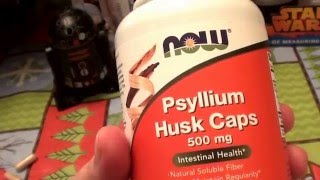 NOW Foods Psyllium Husk Caps -- 500 mg REVIEW
