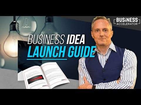 THE BUSINESS IDEA LAUNCH GUIDE - Free Masterclass | London R