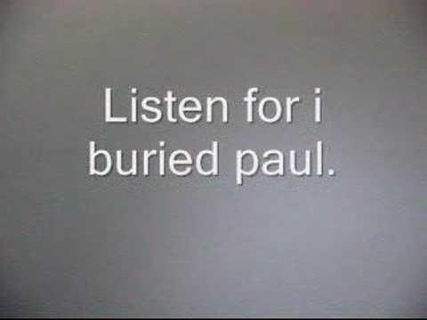 Paul Is NOT Dead - Belive It Or Not # 19