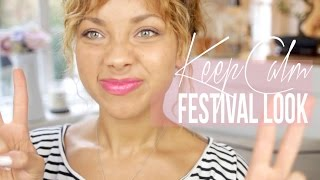 Keep Calm Festival Look ♡ Chatty Tutorial | ad Thumbnail