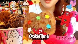【クッキータイム】生クッキー×マシュマロキャラメルアイスクリーム!焼きたてクッキー!フローズンモカドリンク!とことん甘いもの尽くし【スイーツちゃんねるあんみつとpontaさんと東京カフェ巡り♪】