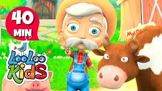 Old MacDonald Had A Farm - THE BEST Nursery Rhymes and Songs for Children | LooLoo Kids