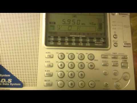 Voice of Tigray Revolution Ethiopia on 5950 kHz