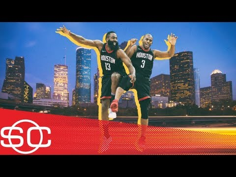 James Harden and Chris Paul were 'like love at first sight' | SportsCenter | ESPN