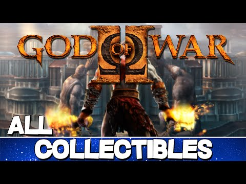 God of War 2 | All Collectibles Guide [HD]