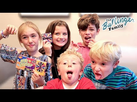 Bean Boozled Challenge w/ Hayley & Jacob ~ Gross Jelly Beans!!!